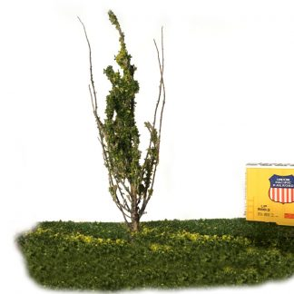 6 inch narrow model railroad tree